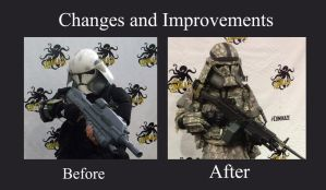 Changes and Improvements by Ghost141