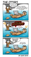 Otters 5 by monkeymagic2000