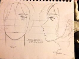 My James Johnson (2P! Canada) Sketch-Out by Myindiansummer