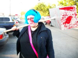 Ramona Flowers Zombie by ShadowMaginis
