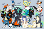 [Old] The worst PokeTeam Ever by MystikMeep