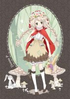 Little Mori Riding Hood by meadow-rue