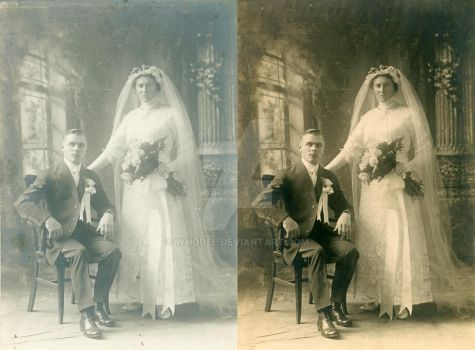 Great Grandparents Wedding by whodel