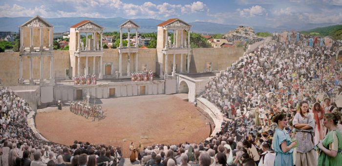 Roman Theatre, by RockhopperVFX