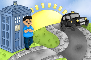 Dr who? Dr Frank! by SillyArtist