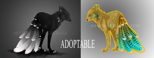 ADOPTABLES AUCTION 1/2 by Khaifer