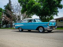1957 Chevrolet Belair Car Stock by mindym306
