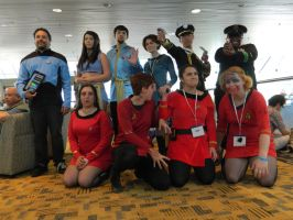 Otakon 2012: The Crew Assembled by galaxy1701d