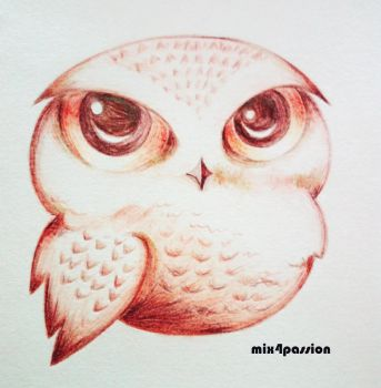 Owl by mix4passion