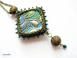 Treasure of India by moonsafaribeads