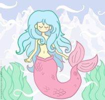 Mermaid Mel by AliciaDelBosque