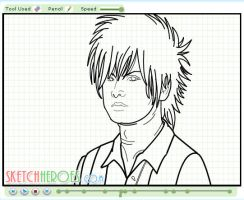 How to draw Satoshi Part 2 by SketchHeroes