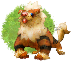 Arcanine by T-Reqs