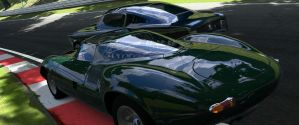 Jag and Stang panorama in GT5 by CWRudy