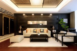 Chinese Style Living Room -2 by PhoenixBai