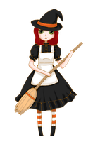 Cute Witch by Ninelyn