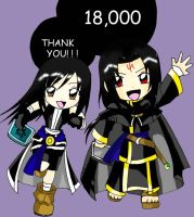 Thank You 18000 by KimMcCloud