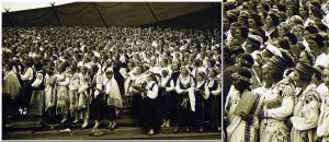 Nationwide Latvian Song and Dance Festival... by Yancis