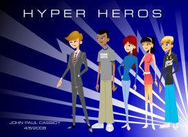 Hyper Heros Group - Civvies by ryuuseipro