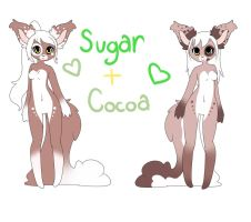 Sugar and Cocoa by LaurenPuff