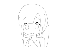 Chibi Lineart by MCTNOKS