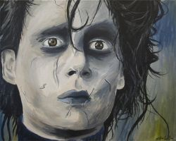 edward scissorhands by nickoyh