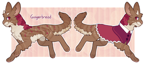 Avilope Advent 2014 - Day 5 - Gingerbread by Dogquest