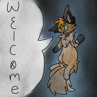 .:Chibi Welcome - Kevin:. by Gravitii-CS