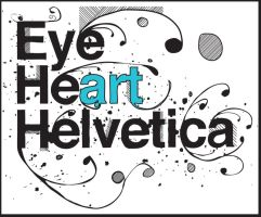 Helvetica Typography by FillTheFrame