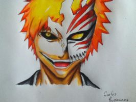 Ichigo Hollow by Draw4fun2