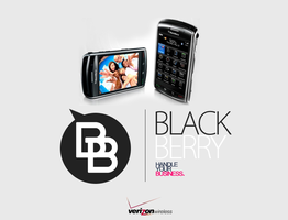 blackberry mockup by 2wo6ix