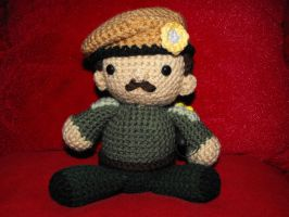 Doctor Who - The Brigadier by Ginger-PolitiCat
