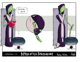 Apprentice Apothecary by noiselessness