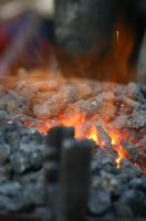 hot coals by loustock