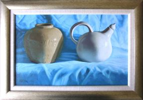 Ginger Jar and Hot Water Jug by LordSnooty