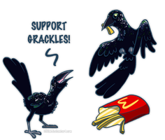 PayPal Commision - Grackles by Ithlini