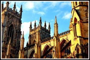 The cathedral in York by YannosGATO