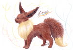 Eevee by CheezieSpaz