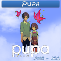 Pupa ICO & PNG by bryan1213