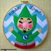 Tingle Embroidery by iggystarpup