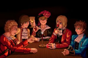 Pirate!Hetalia - I shall not share by MangaEngel