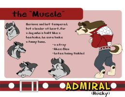 Admiral- the Muscle by Fyuvix
