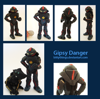 Gipsy Danger by Bittythings