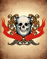 skull crest by luther1000