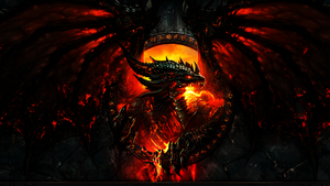Deathwing Wallpaper by xTiiGeR