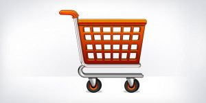 Shopping Cart Icon (PSD) by softarea