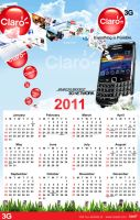 ::Claro Calendar 2011 Beta 1:: by Gallistero