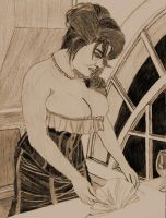 1910's housewife by lordtator