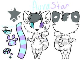 Aura's New Reference by starsleeps