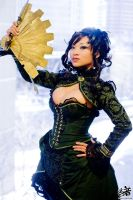 Steampunk Madam at Ohayocon 09 by yayacosplay